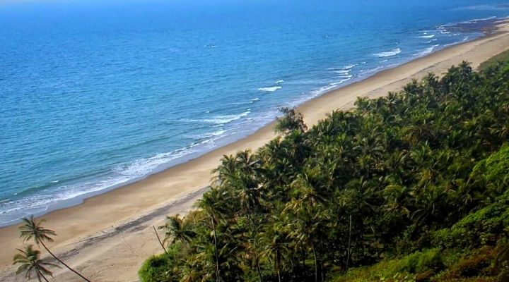 Bhogwe Beach View from Nivati Fort