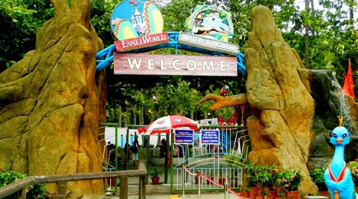 Essel World amusements park in Mumbai